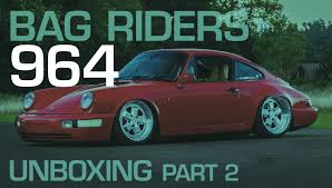 rotiform porsche 964 bag riders air lift performance porsche 911 964 rear