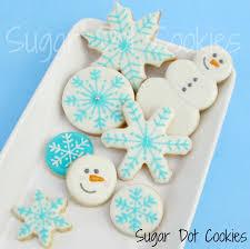 snowflake sugar cookies sugar dot cookies simple winter sugar cookies