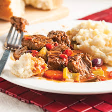 cuisine provencale recette casserole de boeuf braisé à la provençale recettes cuisine et