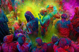 color or colour holi festival from the album living color colour as experience