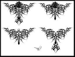 25 really beautiful lower back tattoos