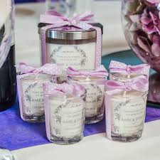 wedding candle favors large glass personalised candle personalised candle wedding favours