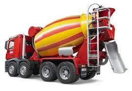 bruder 03654 mb arocs cement mixer truck