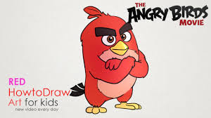 angry birds step step drawing learn draw matilda