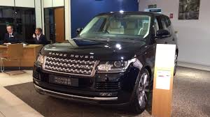land rover vogue 2018 2017 range rover vogue exterior and interior review youtube