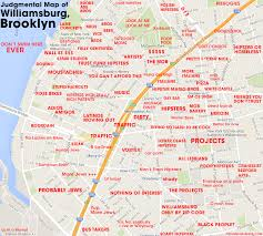 williamsburg map judgmental maps williamsburg ny by willzone com