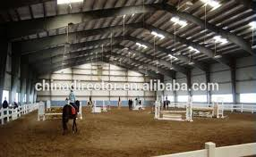 covered steel indoor horse riding arena building suppliers and