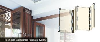 Exterior Folding Door Hardware Eclipse Architectural E2i Interior Folding Door Hardware System