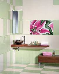 Pink Tile Bathroom 35 Modern Interior Design Ideas Creatively Using Ceramic Tiles For