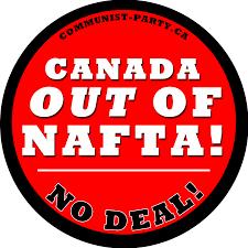 Lower Canada Flag Communist Party Of Canada Parti Communiste Du Canada