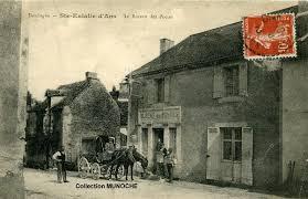 les de bureau anciennes sainte eulalie d ans le bureau des postes carte postale ancienne