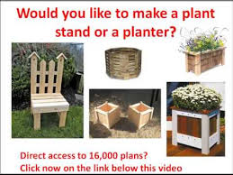 wooden planter boxes plans how to make a wood planter plan