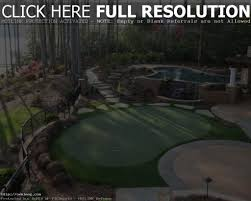 backyard putting green designs home outdoor decoration