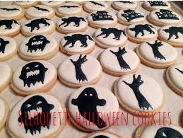 silhouette halloween cookies u2013 cookies and cravings and calories