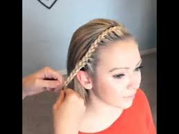 braided hair headband great back to school style braided headband from shorthair