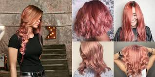 the matrix haircut all the ways to rock rose gold hair color this summer matrix com