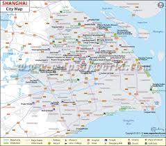 Shanghai China Map by Shanghai Province