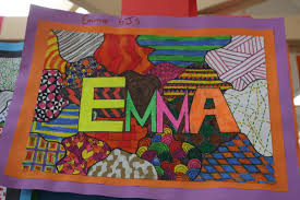 pattern art name what s in a name visual arts taylors lakes primary school