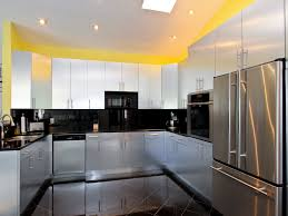 glass kitchen awesome white grey glass wood luxury design