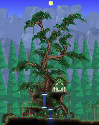 Terraria Tree House Design
