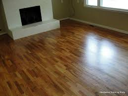 refinished oak floor hardwood floors by randy and