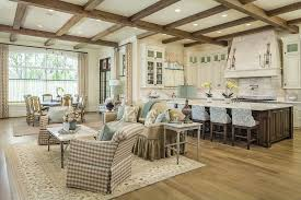 Open Kitchen Dining Room Designs by Craftsman Great Room With Open Concept Can Lights Wildon Home