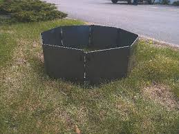 Firepit Ring Cfire Portable Pit Ring Insert 32 Blank Octagon Steel