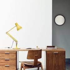 type 75 desk lamp margaret howell yellow ochre anglepoise
