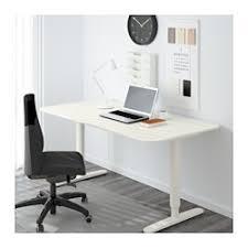 ikea bureau debout bekant bureau assis debout blanc 160x80 cm ikea