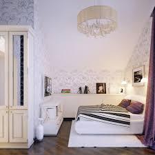 jugendzimmer dachschräge ideen fürs jugendzimmer mädchen dachschräge florale tapeten muster