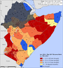 East Africa Map East Africa Alert Thu 2017 07 06 Famine Early Warning