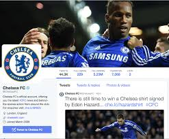 Chelsea F C Chelseafc Com Social Media Monitoring Part 2 Chelsea Fc And The Social Media