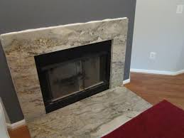 Concrete For Fireplace by Fireplace In Taupe White Granite By Granite Grannies