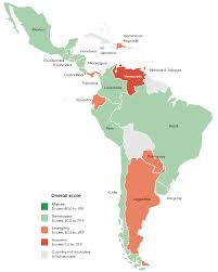 Latin America Map Countries by The Ppp Outlook For Latin America And The Caribbean