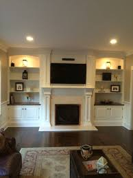 diy fireplace mantel tutorial mantels canvases and tvs