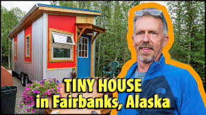 Modern Tiny Houses by Modern Tiny House In Alaska For Self Sustainabilty Advocate Youtube