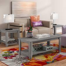 wayfair coffee table sets wayfair living room tables new zipcode design bulma coffee table set