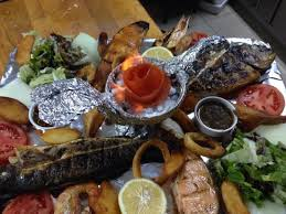 cuisine ottomane mix fish plate picture of ottoman cafe restaurant