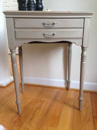 painted sewing machine table annie sloan by interiorswithastory