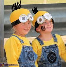 Minion Halloween Costume Baby 25 Minion Halloween Costumes Ideas Diy