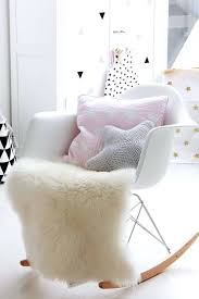 Wholesale Modern Home Decor Nursery Rocking Chairs White Oval Modern Wooden Intended For Home