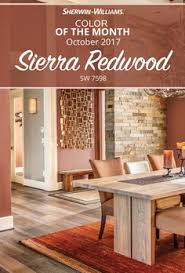 paint color sw 7598 sierra redwood from sherwin williams for the