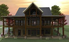 house plans with daylight basement 3 bedroom open floor plan with wraparound porch and basement