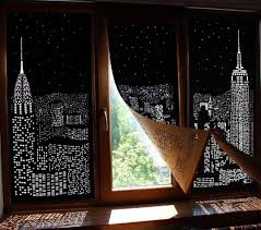 these blackout curtains will turn the day into starry urban