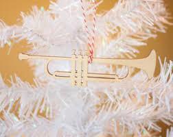 trumpet ornament etsy