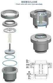 sanitary sanitary check valve with union sanitary check valve check valve