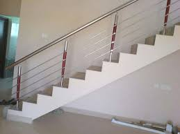 Stainless Steel Banister Steel Railing Hd Stainless Steel With Wooden Railings