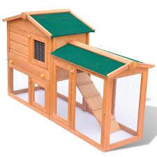 cache conteneur bois la boutique en ligne grande cage clapier extérieur en bois pour
