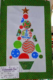wall ideas wall hanging christmas tree quilted christmas tree