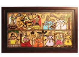 Indian Home Decor Online Shopping Buy Indian Phad Painting Antique Handicrafts Online Wall Home